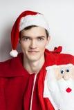 Retrato Papá Noel Imágenes de archivo libres de regalías
