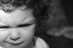 Retrato pequeno da menina Fotografia de Stock Royalty Free