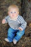 Retrato pequeno do bebê Imagens de Stock
