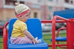 Retrato pequeno do bebê Imagem de Stock Royalty Free