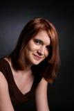 Retrato principal y de los hombros de adolescente Fotos de archivo libres de regalías