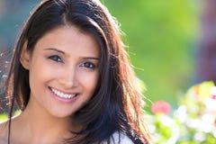 Retrato puro do headshot da beleza Imagens de Stock Royalty Free