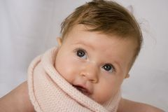 Retrato recém-nascido Fotografia de Stock