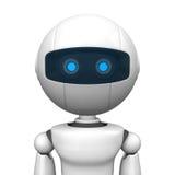 Retrato robótico do homem Fotografia de Stock Royalty Free