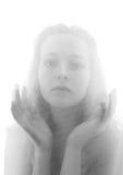 Retrato romántico de la muchacha hermosa Imágenes de archivo libres de regalías