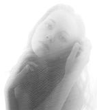 Retrato romántico de la muchacha hermosa Fotografía de archivo libre de regalías