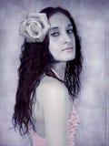 Retrato romântico Imagem de Stock Royalty Free