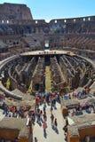 Retrato romano del colosseum Foto de archivo