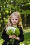 Retrato rubio precioso de la muchacha Imágenes de archivo libres de regalías