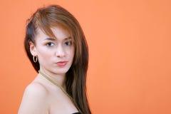 Retrato sério 2 do Redhead Foto de Stock