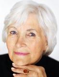 Retrato sênior da mulher Foto de Stock