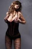 Retrato sensual. Foto de archivo libre de regalías