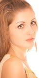 Retrato 'sexy' novo da mulher, isolado Imagens de Stock