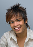 Retrato sonriente del adolescente Foto de archivo libre de regalías