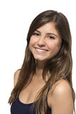 Retrato sonriente del adolescente hermoso Foto de archivo libre de regalías
