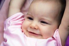 Retrato sonriente del bebé Foto de archivo