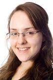 Retrato sonriente del business-woman Imágenes de archivo libres de regalías