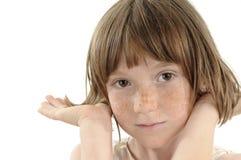 Retrato sonriente hermoso del niño Imagenes de archivo