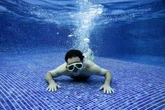 Retrato subaquático Imagem de Stock Royalty Free