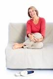 Retrato superior da mulher. imagem de stock royalty free