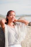 Retrato tailandês da menina Imagem de Stock
