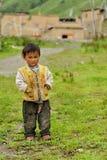 Retrato tibetano do miúdo Fotos de Stock Royalty Free