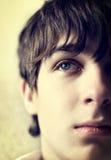 Retrato triste del adolescente Fotografía de archivo libre de regalías