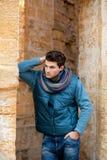 Retrato urbano do homem à moda Imagem de Stock