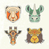 Retratos animais Imagens de Stock Royalty Free