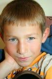 Retratos bonitos do menino Fotografia de Stock