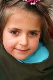 Retratos bonitos pequenos de uma menina Fotografia de Stock