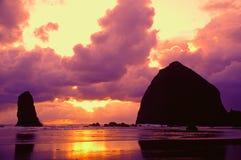 Retratos da costa de Oregon Imagens de Stock