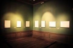 Retratos da galeria de arte. fotos de stock royalty free