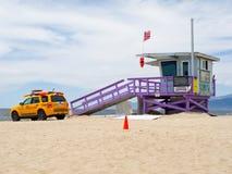 Retratos da torre do Lifeguard da esperança Fotografia de Stock