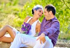 Retratos de casamento Imagem de Stock