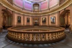 Retratos de los gobernadores en Michigan de la Rotonda imagen de archivo