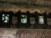 Retratos de los judíos que vivieron en el pueblo Kolochva Imagen de archivo