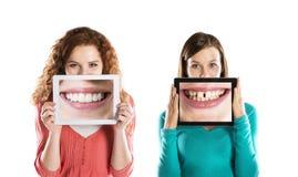 Retratos divertidos Foto de archivo