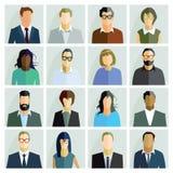 Retratos dos povos Foto de Stock