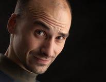 Retratos expressivos de um homem novo Imagens de Stock Royalty Free