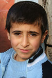 Retratos tristes del muchacho fotografía de archivo libre de regalías