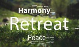 Retreat word cloud