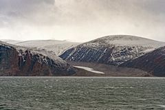 Retreating Glacier in the HIgh Arctic Royalty Free Stock Photos