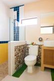 Retrete y cuarto de baño Fotografía de archivo libre de regalías