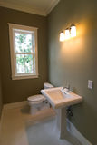retro łazienki proste Obrazy Royalty Free