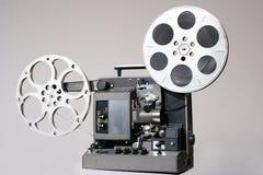 Retro- 16mm Film-Projektor Stockbilder