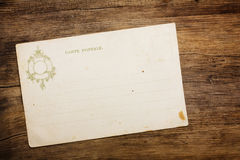 Retro 1900th postcard Royalty Free Stock Photos