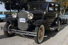 A retro 1931car Ford Stock Photo