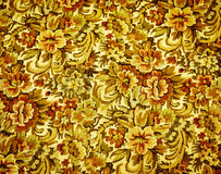 Retro 1970's Upholstery Pattern. Retro fabric couch upholstery from 1970's time period Stock Images