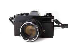 Retro 35 mm Camera Royalty Free Stock Photos